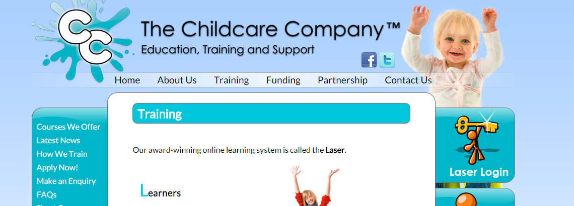 Case study PDF download for the Childcare Company