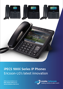 iPECS 1000I series brochure cover